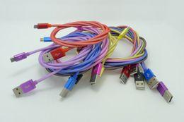 1M 3FT стальная сетка Micro USB плетеный нейлон USB кабель USB для передачи данных для Samsung S3 S4 Примечание 3 4 HTC от Поставщики отметить сетку