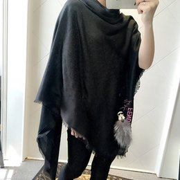 Wholesale Capes Ponchos For Women - New Design Brand shawl scarf Warm Pashmina shawl Wool Cashmere scarfs Cape infinity Shawls Scarves Best Gift For women Free DHL