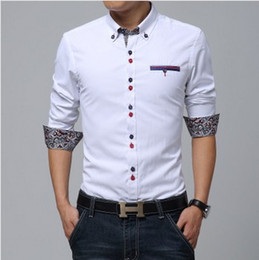Canada Men's Fitted Casual Button Down Shirts Supply, Men's Fitted ...