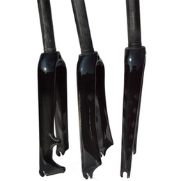 "Wholesale Disc Caliper - 451 3K Carbon Mini Velo bicycle Fork 20"" 1 1 8"" Rigid Forks For Minivelo Bike Caliper C Brake disc BMX brake"