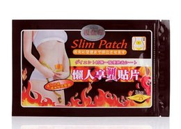 Wholesale Slim Navel Stick - Body slimming patches The Third Generation Slimming Navel Stick Slim Patch Weight Loss Burning Fat Patch DHL free shipping