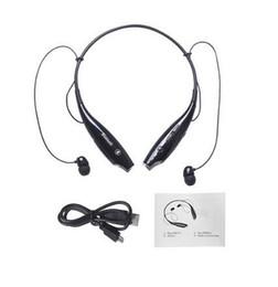 Musica di ascolto wireless online-Cuffie stereo Bluetooth Handfree Sport Cuffie stereo con microfono Ascolta musica Strong Bass HV800 per telefono