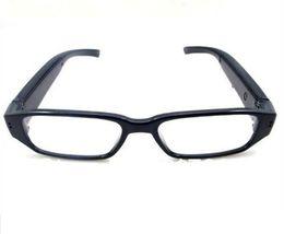 Occhiali HD 1080p mini fotocamera occhiali pinhole fotocamera Occhiali da sole MINI DV DVR registratore video digitale vocale nero da