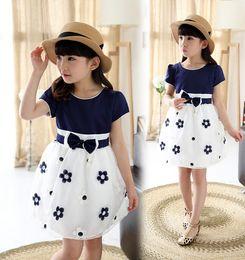 Wholesale Children Wearing Mini Skirts - Children's wear summer dress princess dress children dress skirt for the girl of the girls