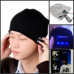 Wholesale Active Audio - 2015 Fashion Warm Hat Mini Wireless Speaker Bluetooth Receiver Audio Music Speaker Bluetooth Hat Cap Headset Headphone