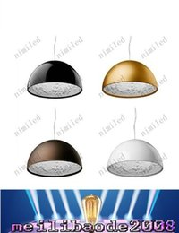 Wholesale Flos Italy - White Black Golden Brown Dia 40cm   Dia 60cm Italy Flos Skygarden Big Pendant Lamps Fixture Chandelier Droplight Light Resin Lamp MYY1666