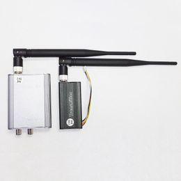 Wholesale Wireless Transmitter For Cctv Camera - 2W 2000mw 2.5G Wireless Video Audio AV Transmitter Receiver for CCTV camera kit