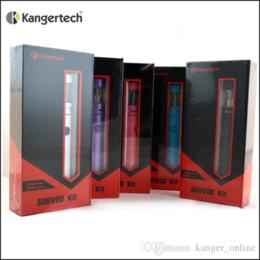 Wholesale Nano Green - 1pc 100% Original Kanger Subvod Starter Kit with KangerTech 1300mAh Subvod Battery and SSOCC Coils Toptank Nano Tank Free Shipping