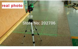 Luz da linha do laser on-line-Atacado-2 linhas de luz verde nível laser de 360 graus nível laser rotativo, linhas de laser Super Bright luz verde Indoor e outdoor dual-uso