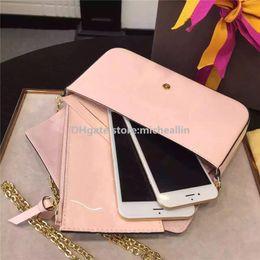 Wholesale Purses Bags Wallets - New Fashion Women Bag Handbag Phone Holder Case Purse Wallet brand designer women messenger bag corssbody sale discount original box