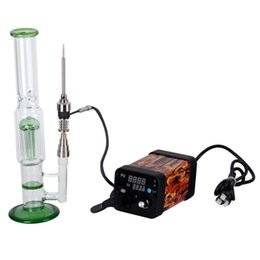 Wholesale Heaters For Cheap - Cheap Enail Electric Dnail TC PID Box Temp Controller With Heater Coil For Domeless Titanium Nail 16mm Or 20mm