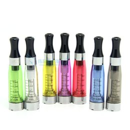 Wholesale Ego Coloful Battery - EGO CE5 Atomize CE5 Clearomizer with coloful tips 1.6ml E-Cigs Atomizers for Ego Battery 510 No Wick CE5 Atomizer for e-Cigarette 8 Colors
