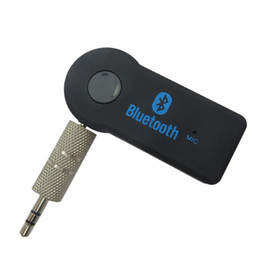Wholesale Bluetooth Adapter For Cell Phone - Car Bluetooth Hands Free Wireless Music Receiver Audio 3.5mm Aux EDUP V 3.0 Transmitter A2DP Multimedia Adapter for Cell Phone Universal