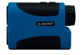 Wholesale Rangefinder Monocular - Wholesale-Free shipping Laser rangefinder Handheld distance meter measuring telescope Golf Measurer Monocular 5-1500m SW-1500A .