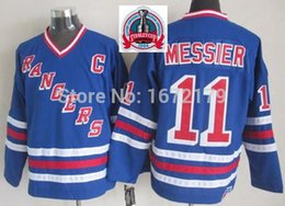 Wholesale 1994 New York Rangers - 2016 NEW, CHEAP 1994 STANLEY CUP CHAMPIONSHIP VINTAGE NEW YORK RANGERS MARK MESSIER ROYAL BLUE THROWBACK STITCHED MENS ICE HOCKEY JERS