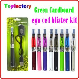 Wholesale Electronic Cigarette Blister Set - CE4 eGo Blister Pack Set CE4 Atomizer 1.6ml 2.4ohm CE4 Clearomizer 650mah 900mah 1100mah Electronic Cigarette colorful battery ego kit DHL