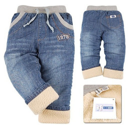 Wholesale Boys Size 3t Jeans - Wholesale-2016 children's jeans with small and medium sized jeans