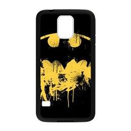 Wholesale Batman Logo Hard Case - batman logo for samsung galaxy S3 S4 S5 S6 note2 note4 note3 hard plastic cell phone back cover case