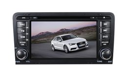 Wholesale Din Audi - 7 inch LCD-TFT touch screen two din car DVD player for AUDI A3 with GPS and Bluetooth