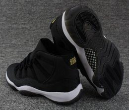 Wholesale Pink Canvas Sneakers High - New Retro 11 Premium HC Black Gold Men Women Basketball Shoes Retro 11s PRM Heiress Black Stingray Sneakers High Quality With Shoes Box