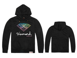 Wholesale Grizzly Long - Autumn and winter fleece diamond supply co GRIZZLY GRIP Star Diamond hip-hop hoodies,diamond supply co clothing.diamond hoodie