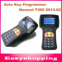 Wholesale Ecu Immo - Wholesale-2015 Newest V2014.02 T-Code T-300 T300 Key Programmer For Multi-Cars T 300 Auto Transponder Key By Read ECU-IMMO