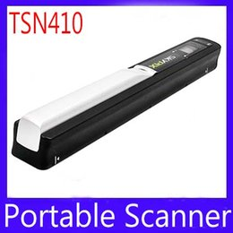 Wholesale portable scanner document scanner TSN410 micro SD card scan for documents letters photos MOQ