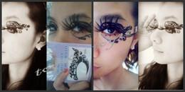 2019 henna tattoo designs beine 2016 freies Verschiffen Gesicht Spitze Lidschatten Aufkleber Augen Make-Up Künstlerische Augenmaske Club Party Kosmetik Gesichtsmaske Auge Temporäre Tattoos