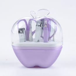 Jeu de clous en Ligne-Gros-9 pcs Apple Maquillage Manucure Set Kit Nail Ciseaux Nail File Cuticules Poussoirs Sourcils Ciseaux Oreille Choisissez, Nail Tools
