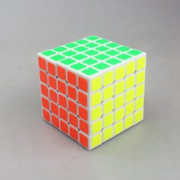 Wholesale Neo V - Free shipping 5X5X5 Magic Cube Dedicated Game Hand Spinner Stress Cube Neo Cube Puzzle Toys For Children Adult V-Cube 5