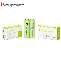 Wholesale Li Ion Battery Cell 3.7v - Wholesale IMR18650 Cell battery Electronics 3100mah 40A 3.7v Brillipower Rechargeable cell for 18650 Li ion Battery