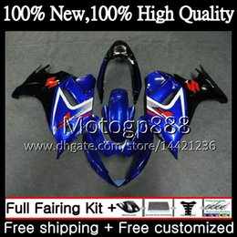 Wholesale Suzuki Gsxf Fairings - Bodys For SUZUKI KATANA GSXF 650 650F GSX650F 08 09 10 11 12 13 32G811 GSXF650 2008 2009 2010 Blue black 2011 2012 2013 Motorcycle Fairing