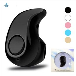 Wholesale Micro Mini Wireless Headphone - For Iphone Samsung S530 Mini Wireless Bluetooth 4.1 Earphone Stereo Light Stealth Headphones Headset Earbud With Micro with retail box