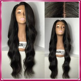 Wholesale Cheap Brazilian Virgin Half Wig - Cheap Hot sale Brazilian Human Long water ripple Hair Full Lace Wig Hot Selling Woman Hair Human Wig