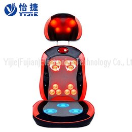 Wholesale Parts Chair - YIJIE massager cushion car seat massage cushion Neck Back Buttock part Vibration massager full body multi-function massage chair YJ-628CZ-8