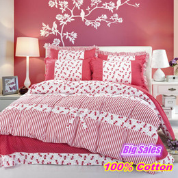 Wholesale Comforters King Size Wholesale - Wholesale - Luxury Lace bedding set queen king size 100% Cotton 4pcs comforter duvet covers bed sheet bedclothes set