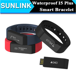 iwown watch Promo Codes - Original iwown I5 Plus Smart BAND Bluetooth waterproof Wristband USB Line Intelligent Sports Watch Step Sleep ON all Compatible