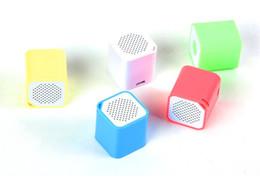 Wholesale Small Speaker Boxes - bluetooth speaker mini speaker Smart Box Smallest Portable Outdoor Bluetooth Soundbox Self-time Remote Shutter epacket free