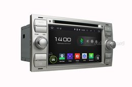 """Wholesale Touch Screen Car Ford Fusion - Quad Core 1024*600 Android 4.4 HD 2 din 7"""" Car DVD Player Car Radio GPS for Ford Focus C-Max Connect Fiesta Fusion Galaxy Kuga Mondeo S-Max"""