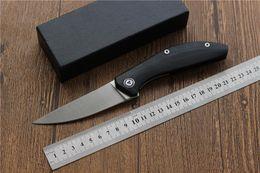 cuchillos de supervivencia de buena calidad Rebajas Envío gratis, SIGMA buena calidad cuchillo plegable Flipper D2 cuchilla G10 mango caza cuchillos de supervivencia que acampan prácticos de bolsillo EDC herramienta