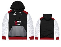 Wholesale hoodies ymcmb - free shipping us size ymcmb Mens Hip Hop Hoodies Fashion Sweatshirts high quality o-neck coat Clothes