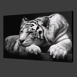 Wholesale Sell Decorative Wall Paint - 2015 Oil Painting Cuadros Quadros Hot Sell! Wall Painting Animal And Tiger Paint On Canvas Prints Home Decorative Art Picture