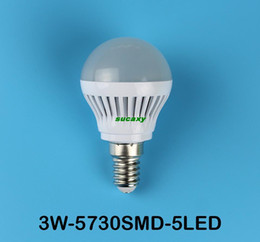 Wholesale Downlight Globe - 50pcs E14 Led Bulb 3W 5W 7W 9W 15W 20W High power CREE LED Lamp 110V-220V LED Bulbs Led Spot Light Spotlight downlight lighting