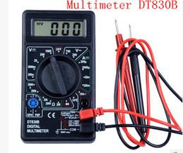 visualizzazione a punti lcd Sconti Multimetro digitale tascabile multimetro digitale, multimetro DT830B prende penne e misura la tensione corrente