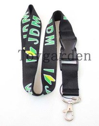 Wholesale Jdm Phone - Sell 30 PCS car logo JDM Latest styles Neck MP3 4 Lanyard,Keychain,Cell Phone ID Badge Holder JD-41