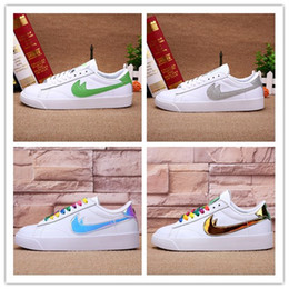 Wholesale Red Blazers Shoes - 2018 newest design SB BLAZER ZOOM LOW GT Mens and women Running shoes for High quality Outdoors Fashion Casual Sports Sneakers Size 36-46