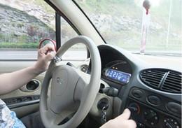 montaje de bloqueo Rebajas 30 unids DHL Envío gratis Vehículo de Control Remoto Mango de Control de Potencia Ajustable Spinner Knob Volante de Metal Booster Ball
