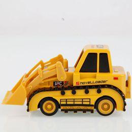 Wholesale Super Mini Rc Cars - High Quality 5010 Mini Radio Control Bulldozers Car Electric Rc Toys For Children Super Power Ready to Run 14003463