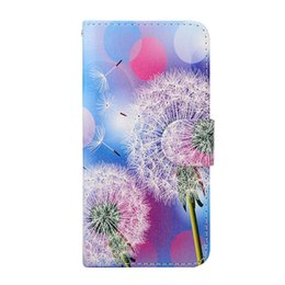 brown bear case UK - Butterfly Moon Dandelion Bear Girl Wallet PU Leather Case For Huawei Ascend P8 Lite Honor 7 mate 7 honor 6 6 plus Sony Z5  Z5 Compact mini