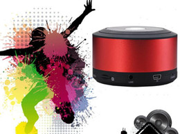 Wholesale N8 Support - Universal My Vision N8 Bluetooth Mini Speaker Wireless Portable Outdoor Sports Audio Music Player Car Handsfree Mic support TF Card FM Radio